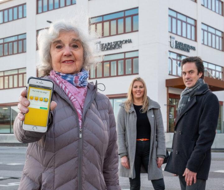 Karlskrona först i landet med digitalt verktyg för att bryta ensamheten hos äldre