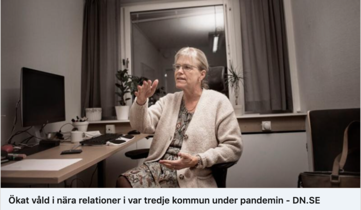 DN bekräftar i stor undersökning: Ökat våld i nära relationer i var tredje kommun under pandemin