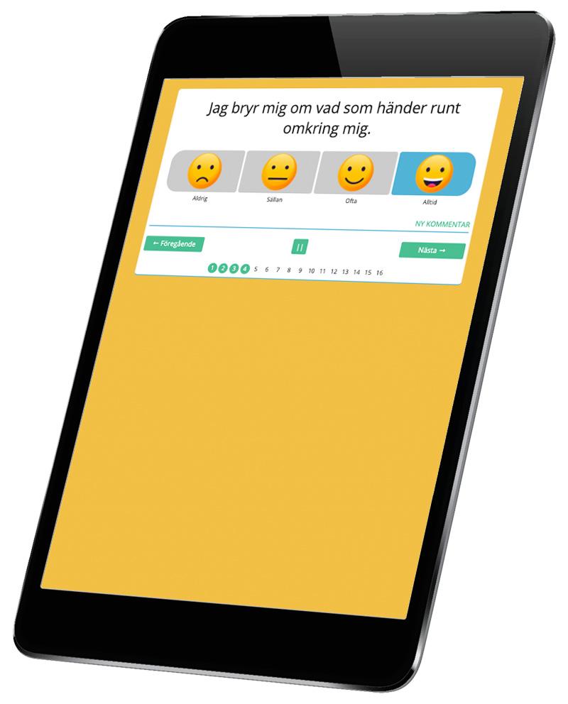 KASAM är ett skattningsverktyg som används för både unga och seniorer. Digitala Samtals KASAM är anpassat för att på bästa sätt ge brukaren och handläggaren ett bra verktyg för uppföljning och stöd