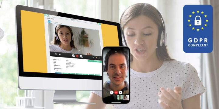Första anpassade tjänsten för säkra lagliga videosamtal inom socialförvaltning och äldreförvaltning