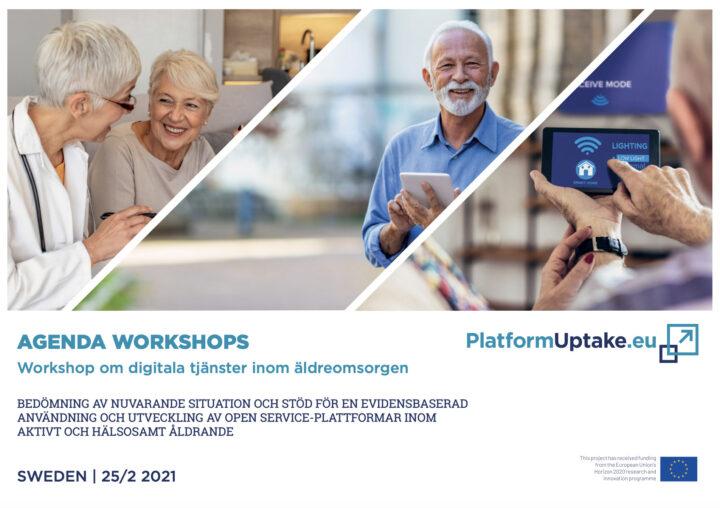 Workshop om digitala tjänster inom äldreomsorgen den 25 februari