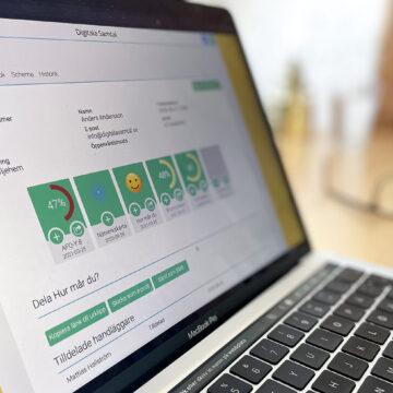Ny version av Digitala Samtal med bland annat uppdaterat brukarkort
