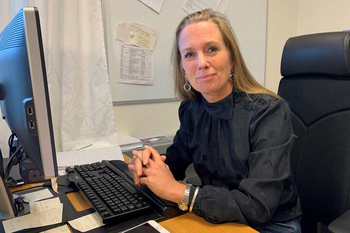 Annika Atterlid Ohlsson ansvarig för videokonsultation inom hemtjänsten i Höörs kommun